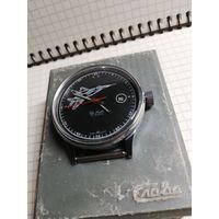 """Редкие часы """"Слава-МИГ"""" на ходу корпус без следов носки(корпус новый)+коробочка в комплекте с 1 рубля!"""