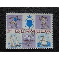 Бермуды 1968 г. Летние олимпийские игры в Мехико.