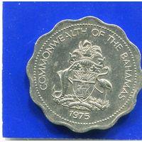 Багамские острова . Багамы 10 центов 1975