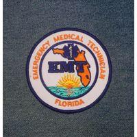 Шеврон ЕМТ Florida