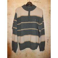 Фирменный мужской свитер Parx на размер примерно 48-50,замеры внутри Состав 82 шерсти ягнят и 18 нейлон Замеры Погруди 59 см, Длина 75 см, Длина рукава 65,5 см Состояние нормальное, носили немного Пок
