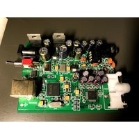 ЦАП на AK4490 + XMOS U8 + NE5532 32bit 192 кГц