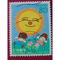 Япония 1996г. Дети.