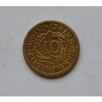 Германия 10 пфеннингов 1924 г.