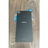 Задняя крышка Sony Xperia Z3 (черная) original black with NFC