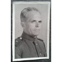 Фото майора. 1945 г. 9х14 см.