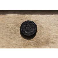 Деньга 1731 года 2