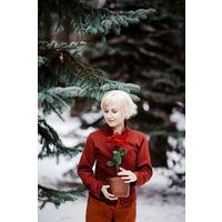Косплей костюм сказка снежная королева кай