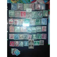 Набор марок 3рейх. С 1 рубля.