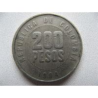 Колумбия 200 песо 1994 г.