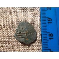 Первая монета Европейский Польский первый динарий 1060 года с поднебесной нитью Речь Посполита