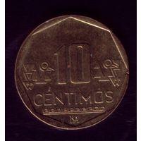10 сентимос 2003 год Перу