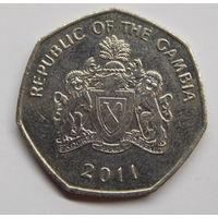 Гамбия 1 даласи 2011 г