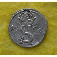 Двуденарий 1566 г ВКЛ Сохран