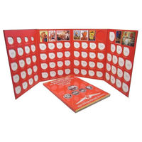 Альбом планшет для юбилейных монет СССР на 68 монет.
