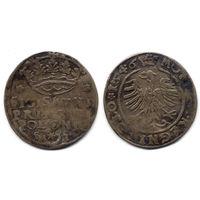 Грош 1546, Жигимонт Старый, Краков. Старая патина, R