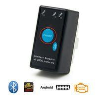 Диагностический адаптер ELM327 Bluetooth с кнопкой v1.5