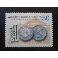 Корея Южная 1997 монеты