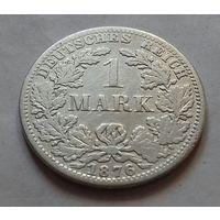 1 марка, Германия 1876 A, серебро 900