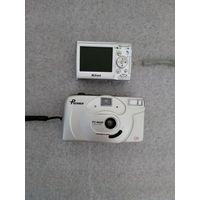 Два фотоаппарата одним лотом. Nikon + Premier. Состояние на фото.