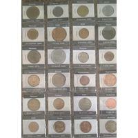 Монеты разные (лист в альбом)