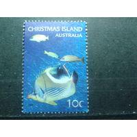 О-ва Рождества 2004 Коралловые рыбки