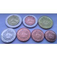 МАЙЯ годовой набор 2012 года 7 монет от 1 до 20 сентаво