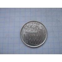 Монако 1 франк 1976г.km140