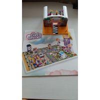 Cogo girls dream конструктор beauty salon, собран, все детали, без инструкции и коробки