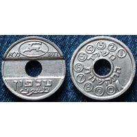 W: Израиль, телефонный жетон (120)