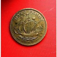 53-04 Великобритания, 1/2 пенни 1962 г.