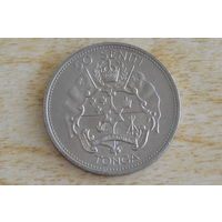 Тонга 50 сенити 1967   Коронация Тупоу  IV