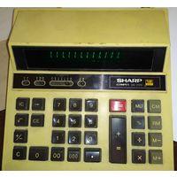 Калькулятор Sharp Compet CS-2122 япония