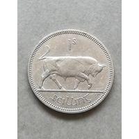 Ирландия 1 шиллинг 1962г С рубля