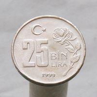 Турция 25000 лир 1999
