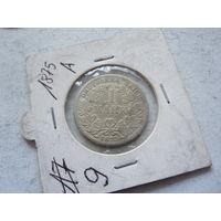 Германия 1 марка 1875 A (Берлин)