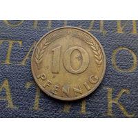 10 пфеннигов 1970 (F) Германия ФРГ #03