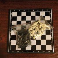 Шахматы карманные магнитные