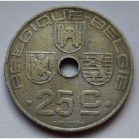 Бельгия, 25 сантимов 1943 г. 'BELGIQUE - BELGIE'- Цинк.
