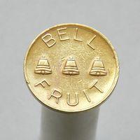 Игровой жетон  bell fruit 20p Великобритания