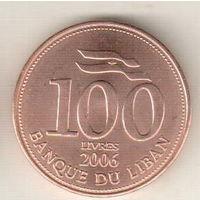 Ливан 100 ливр 2000