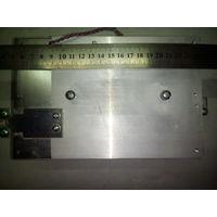 Радиатор от частотного преобразователя.