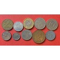 10 монет из 10 стран - 7