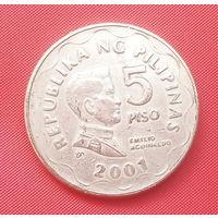 61-23 Филиппины, 5 песо 2001 г.
