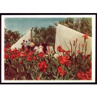 1959 год Сталинград Памятник воинам и офицерам