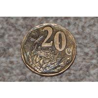 ЮАР. 20 центов 1997