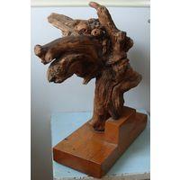 Лесная скульптура, автор Пулхов Е.