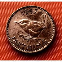 107-16 Великобритания, 1 фартинг 1947 г.