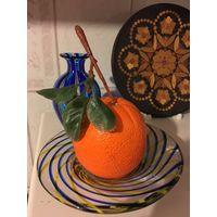 Апельсин как настоящий муляж