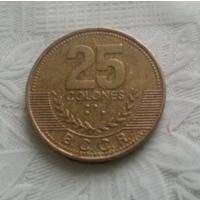 25 колонов 2003 г. Коста Рика